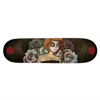Death Femme 21.6 Cm Skateboard Deck