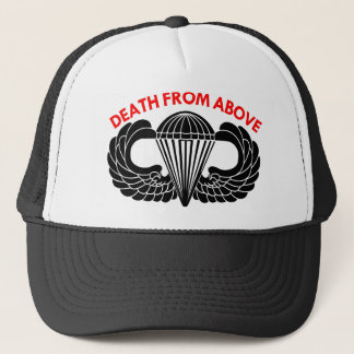 Death From Above Parachute Wings Cap