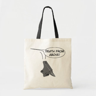 Death from Above! Tote Bags