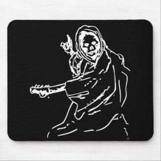 Death guitar mousepad