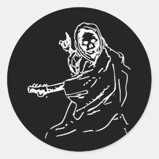 Death guitar sticker