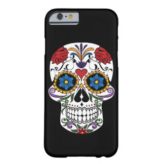 Death head flowers barely there iPhone 6 case