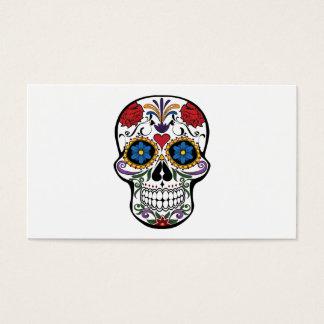 Death head flowers business card