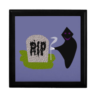 Death in the Cemetery Halloween Gift Box