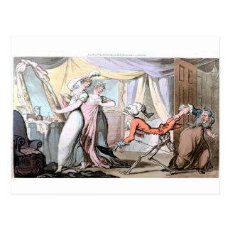 Death in the Ladies Boudoir  postcard