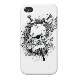 Death Cover For iPhone 4