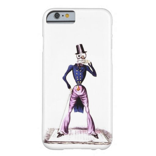 Death is a Gentleman Barely There iPhone 6 Case