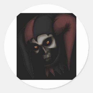 Death Jester jpg Stickers