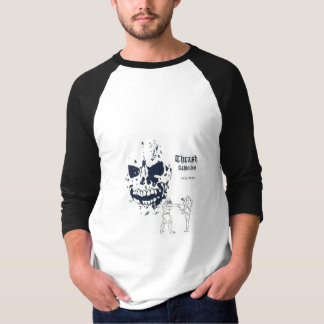 Death Kick Black Jersey T-Shirt