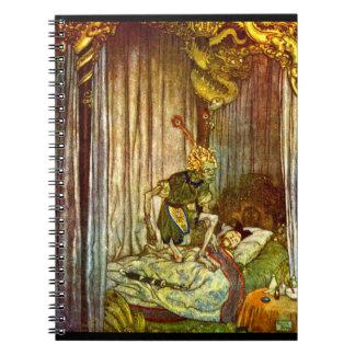 Death Listened 1900 Spiral Note Book