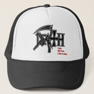 DEATH logo Metal Crusade cap
