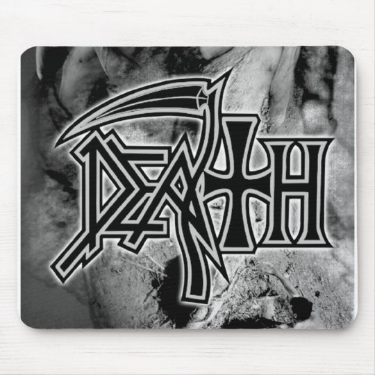 DEATH logo Perseverence artwork '98 Mouse Mat