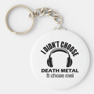 death metal designs key ring