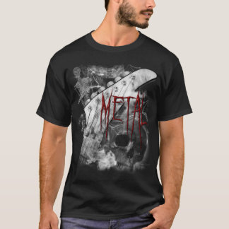 Death Metal Guitar Shirt