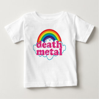 Death Metal rainbow design Baby T-Shirt