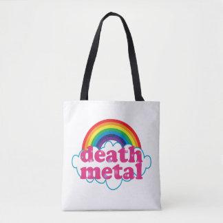 Death Metal Rainbow! Tote Bag