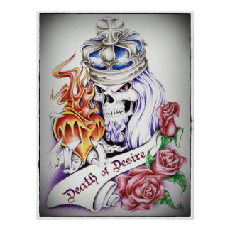 "Death of Desire: Classy 18"" x 24"" Poster"