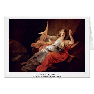 Death Of Dido By Füger Heinrich Friedrich Cards