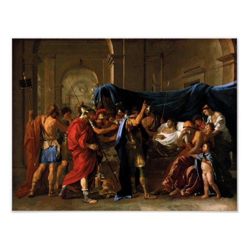 Death of Germanicus Posters
