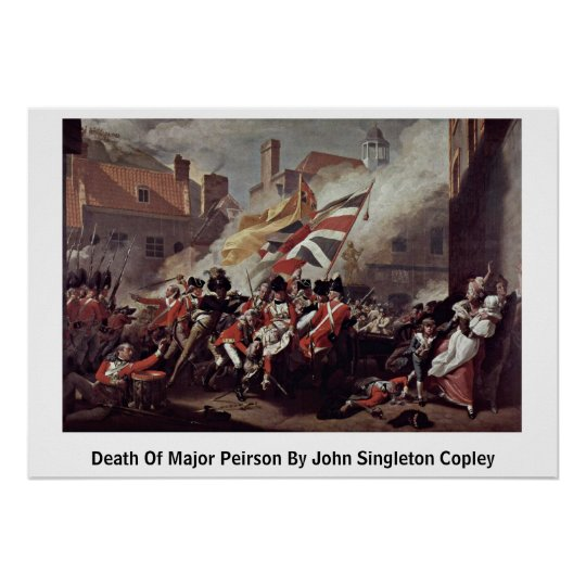 Death Of Major Peirson By John Singleton Copley