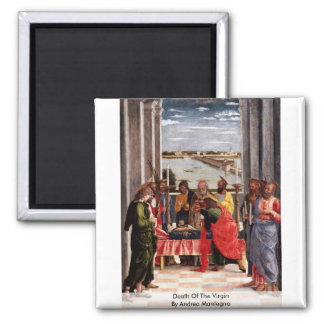 Death Of The Virgin By Andrea Mantegna Fridge Magnets