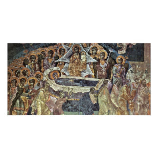 Death Of The Virgin By Meister Von Gracanica  (Bes Personalized Photo Card