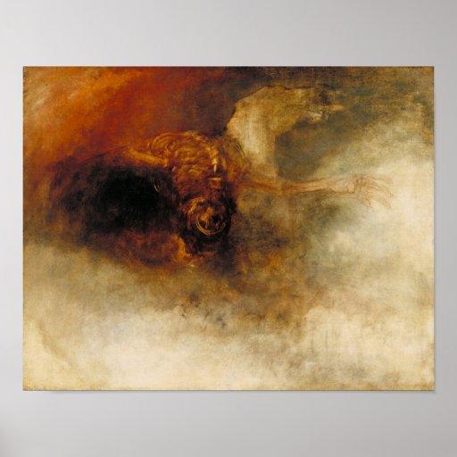 Death on a Pale Horse Print