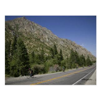 Death Ride Carson Pass Postcard