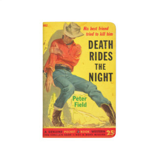 Death Rides the Night western book cover Journals