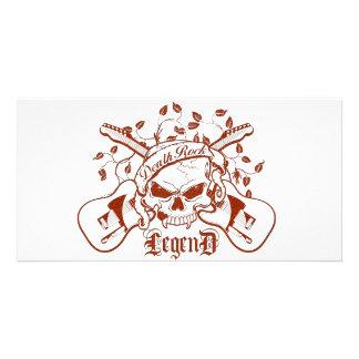 Death Rock Legend Photo Greeting Card