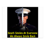 Death Smiles At Everyone We Always Smile Back Post Card