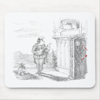 Death Stalks Young Lovers Mousepad