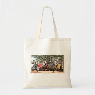 Death Takes a Lunch Tote Bags