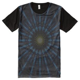 Death Tarot Card Mandala All-Over Print T-Shirt