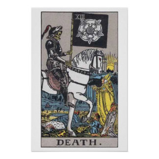 Death Tarot Card Poster