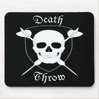 Death Throw Mouse Pad