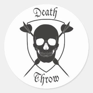 Death Throw Sticker