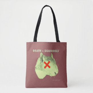 DEATH TO SQUIRRELS™ tote med. Tote Bag