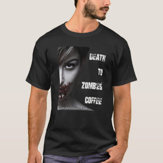 Death to Zombies Coffee (Men's) T-Shirt