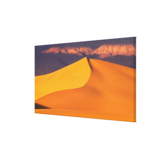 Death Valley at Dawn. California Gallery Wrapped Canvas