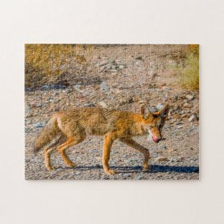 Death Valley Desert Fox. Jigsaw Puzzle