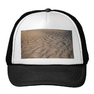 Death valley, desert natural sand dunes near devil trucker hat