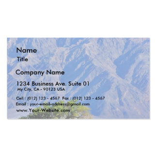 Death Valley Deserts Mountains Pack Of Standard Business Cards