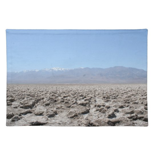 Death Valley - Devil's Golf Course Placemat