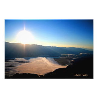 Death Valley from Dantes Views Photograph