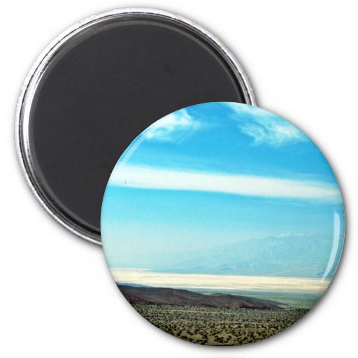 Death Valley From The Northeast Refrigerator Magnet