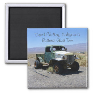 Death Valley/Ghost Town Magnet! Square Magnet