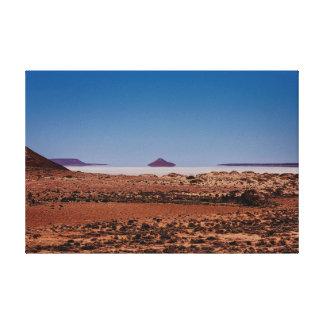 Death Valley mirage Canvas Print