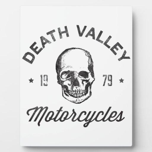 Death Valley Motorcycles Photo Plaque