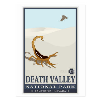 Death Valley National Monument 2 Postcard